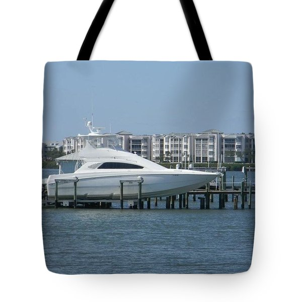 Sleek Ride Tote Bag