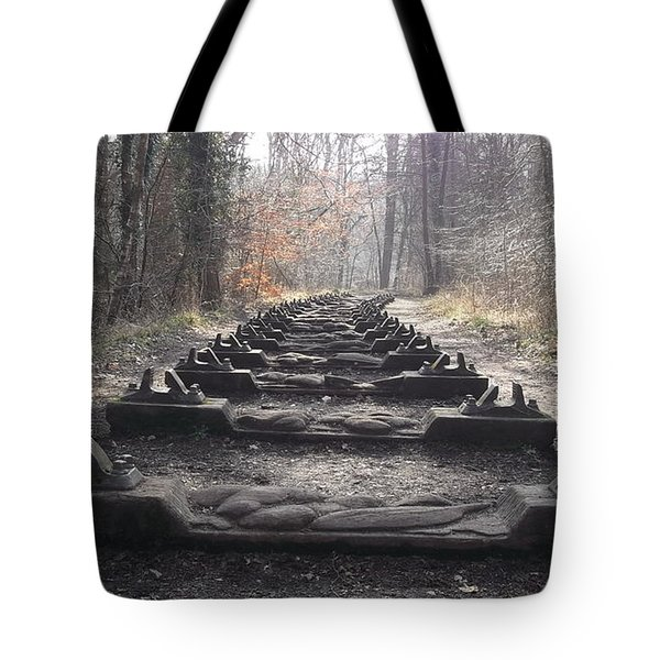 Sleepers In The Woods Tote Bag by John Williams