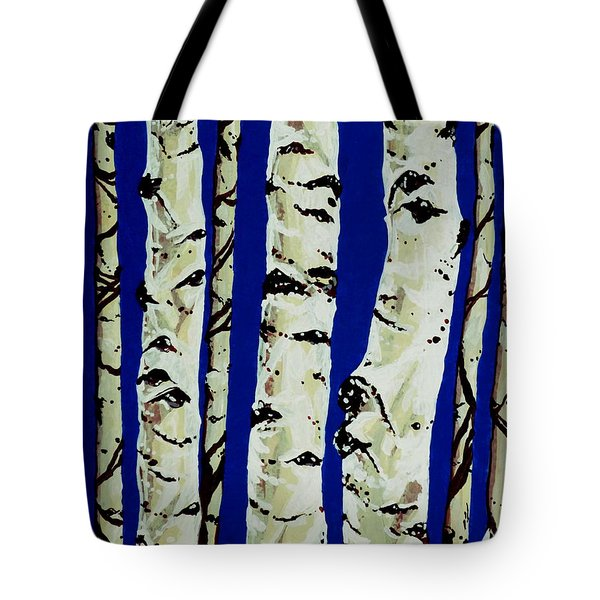 Sleeping Giants Tote Bag by Jackie Carpenter
