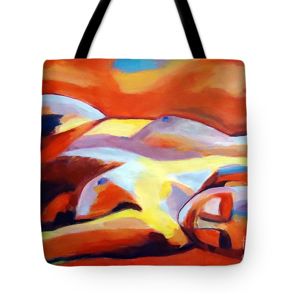 Tote Bag featuring the painting Sleeping Lady by Helena Wierzbicki
