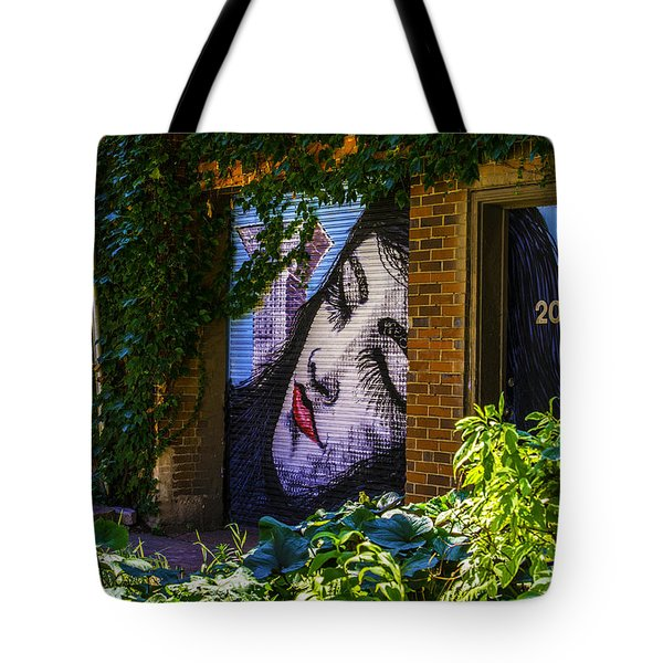 Sleeping Lady No Watermark Tote Bag