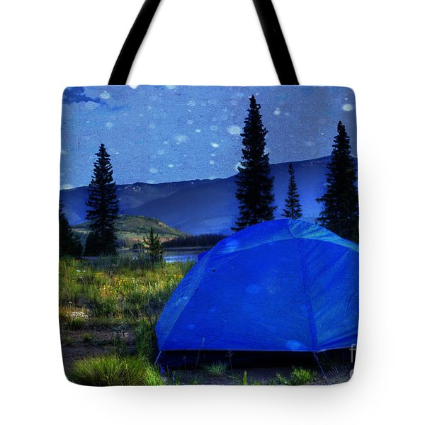 Sleeping Under The Stars Tote Bag