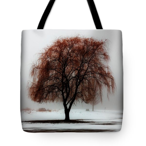 Sleeping Willow Tote Bag