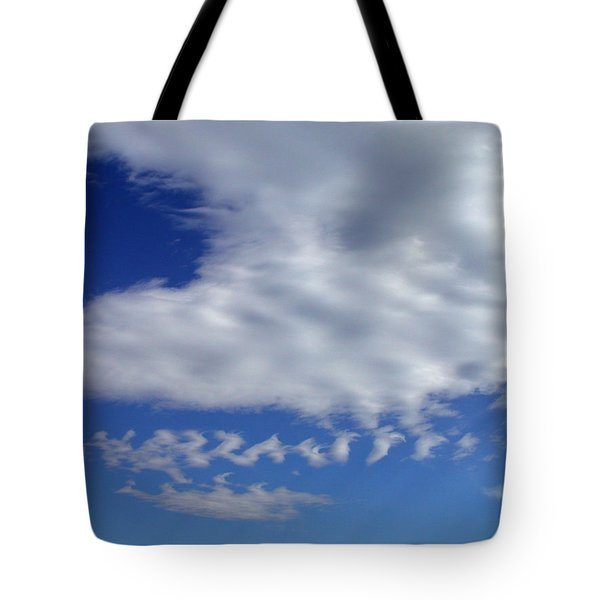 Sleepy Clouds Tote Bag