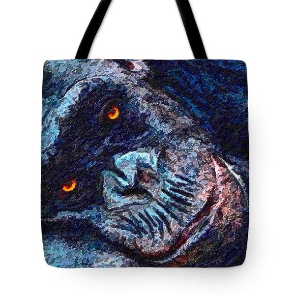 Sleepy Head Tote Bag by Adam Olsen