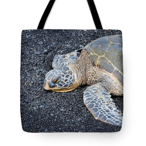 Tote Bag featuring the photograph Sleepy Head by David Lawson