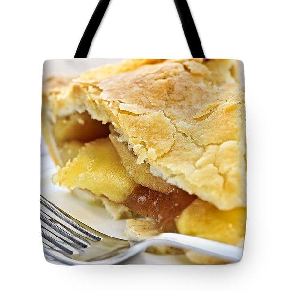 Slice Of Apple Pie Tote Bag by Elena Elisseeva
