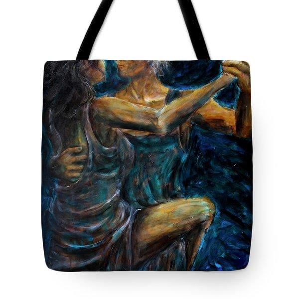 Slow Dancing II Tote Bag by Nik Helbig