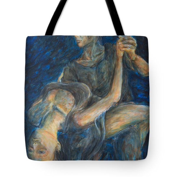 Slow Dancing V Tote Bag