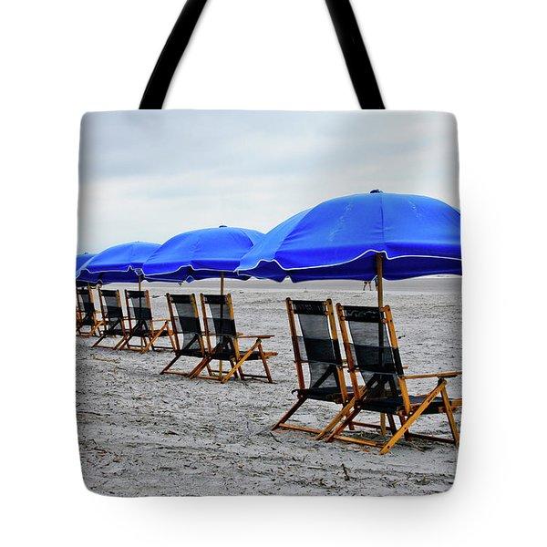 Slow Day At The  Beach Tote Bag by Thomas Marchessault
