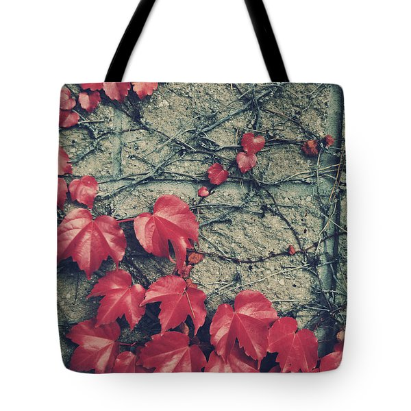 Slowly Dying Tote Bag by Laurie Search