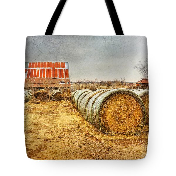 Slumbering In The Countryside Tote Bag by Betty LaRue