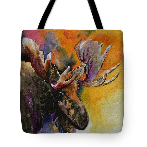 Sly Moose Tote Bag