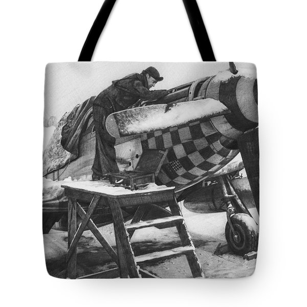 Slybird Winter Tote Bag by Wade Meyers