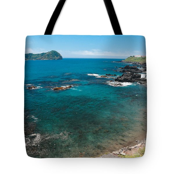 Small Bay And Islet Tote Bag by Gaspar Avila