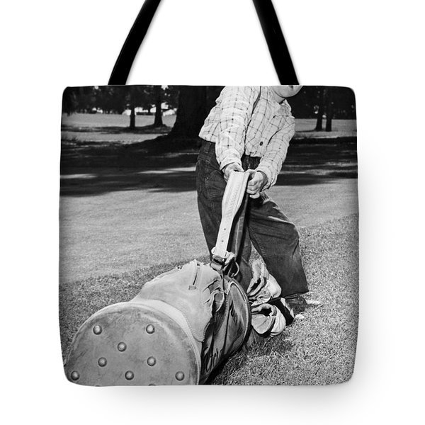 Small Boy Totes Heavy Golf Bag Tote Bag