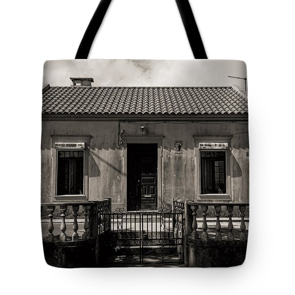 Small Country House With Tiled Roof  Tote Bag