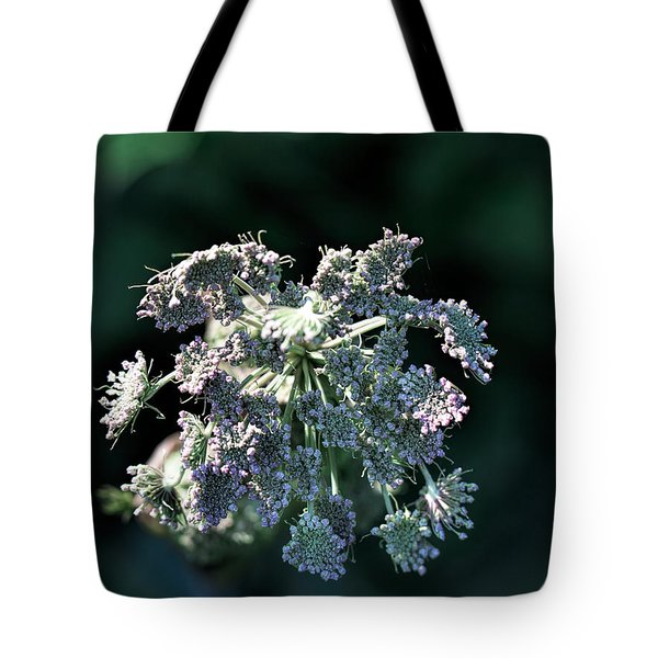 Tote Bag featuring the photograph Small Flowers Makes One Big by Leif Sohlman