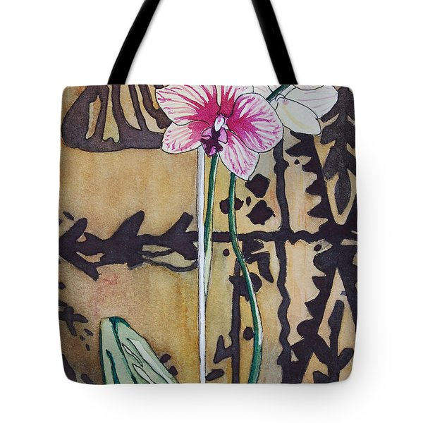 Small Orchids Tote Bag