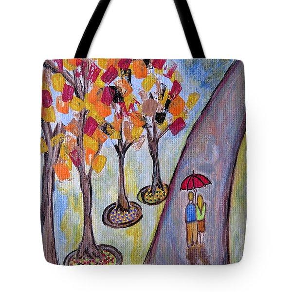 Small Talk Tote Bag by Ella Kaye Dickey