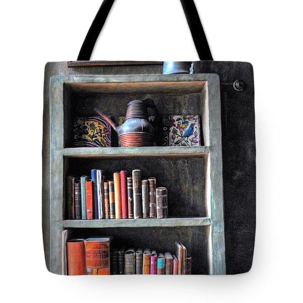 Small Tiled Desk Tote Bag by Dave Mills