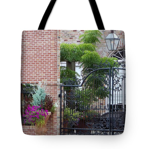 Tote Bag featuring the photograph Small Town Meeting Place by John Glass