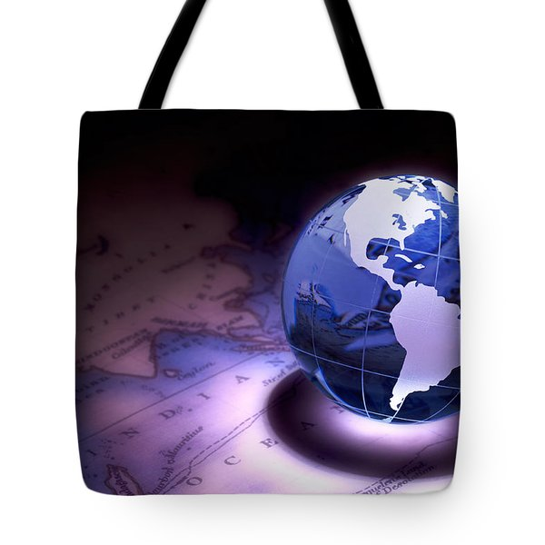 Small World Still Life Tote Bag