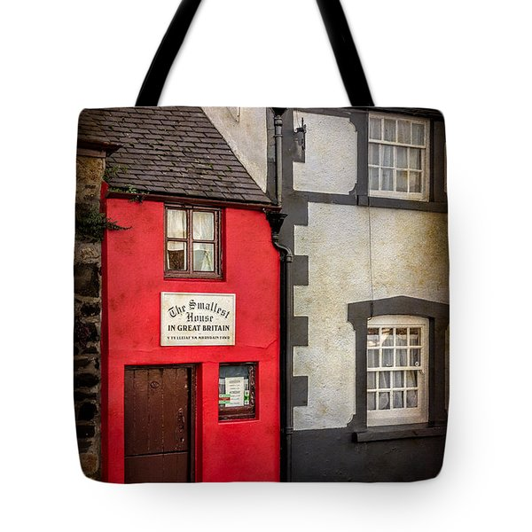 Tote Bag featuring the photograph Smallest House by Adrian Evans