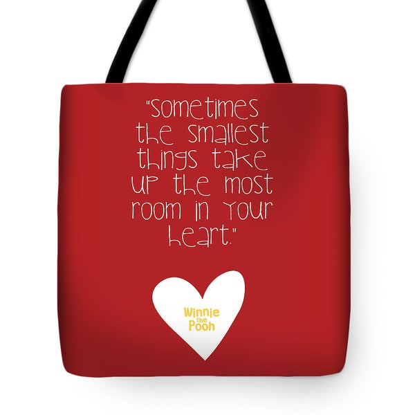 Smallest Things Tote Bag