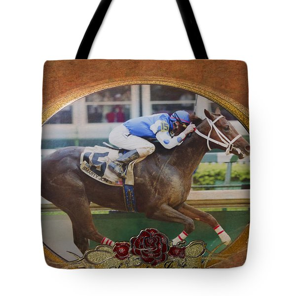 Smarty Jones Tote Bag by Betty LaRue