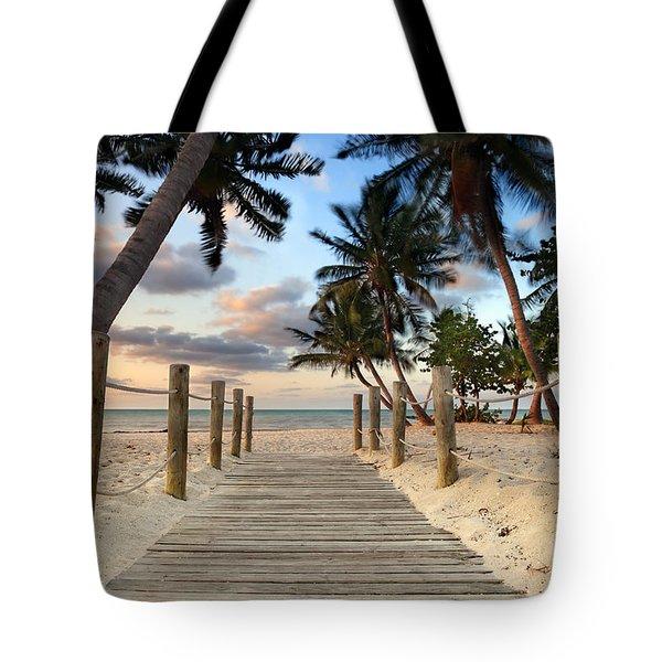 Smathers Beach 2 Tote Bag