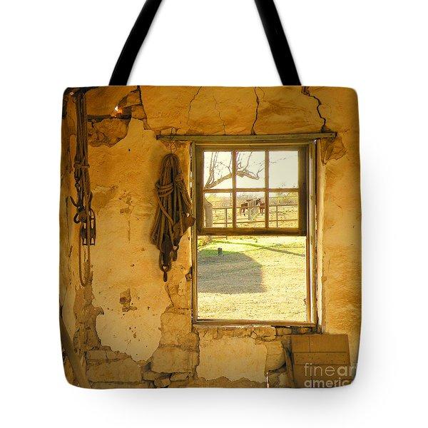 Smell Of Hay Tote Bag by Joe Jake Pratt