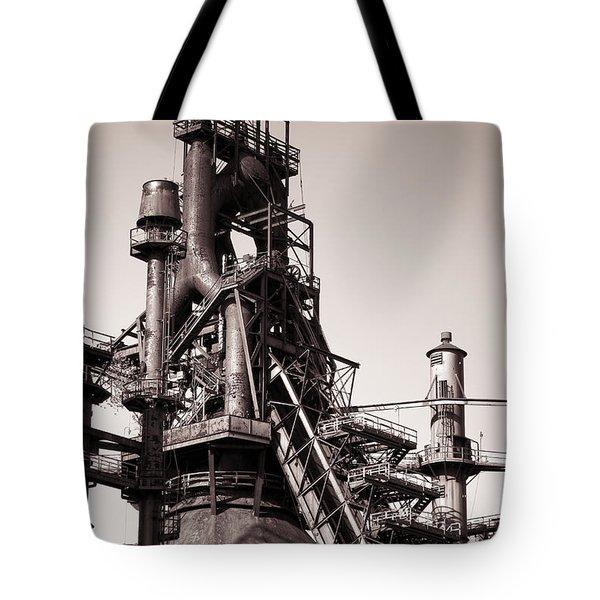 Smelting Furnace Tote Bag
