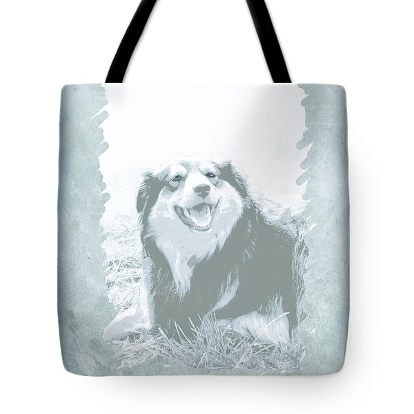 Smile Tote Bag by Ann Powell