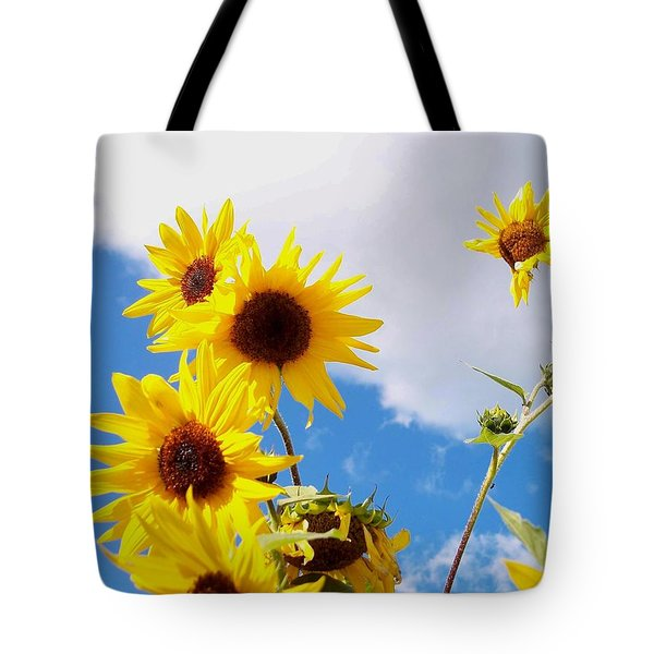 Tote Bag featuring the photograph Smile Down On Me by Mary Wolf