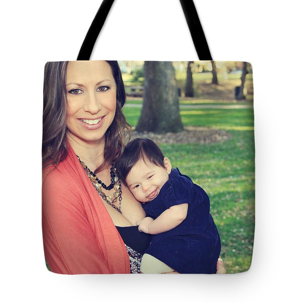 Smile Tote Bag by Laurie Search