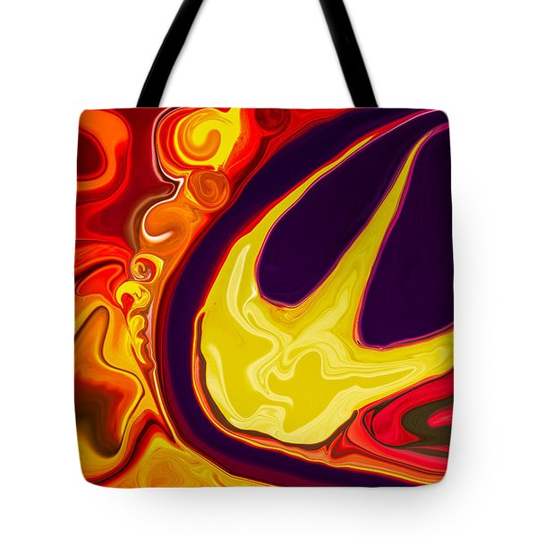 Smiley Face Tote Bag by Omaste Witkowski