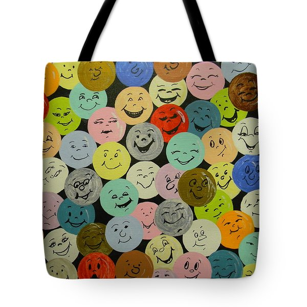 Smilies Tote Bag