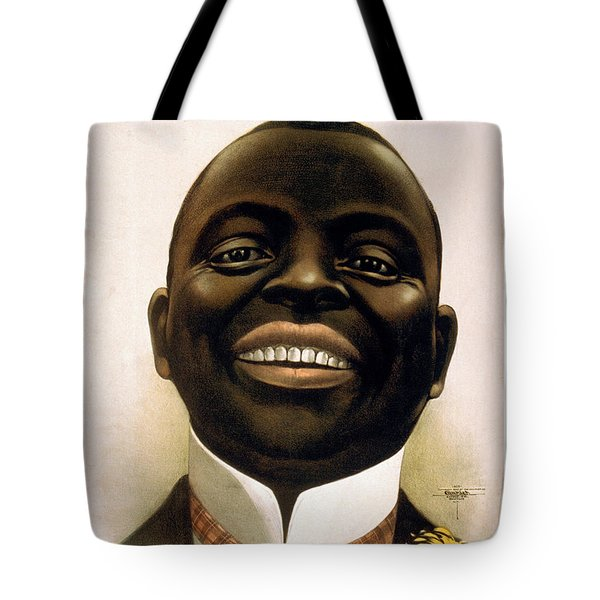 Smiling African American Circa 1900 Tote Bag by Aged Pixel