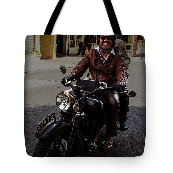 Smiling Into Cape Girardeau Tote Bag
