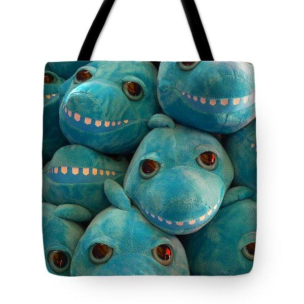 Smiling Sharks Tote Bag