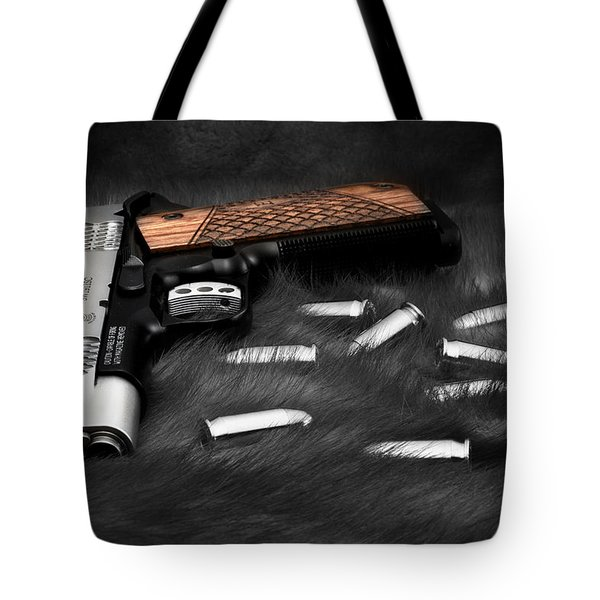 Smith And Wesson 1911sc Still Life Tote Bag