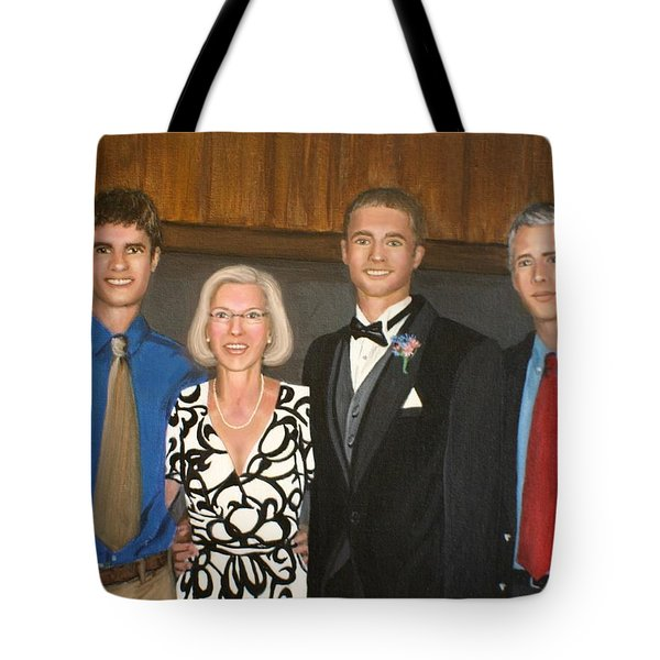 Smith Family Portrait Tote Bag