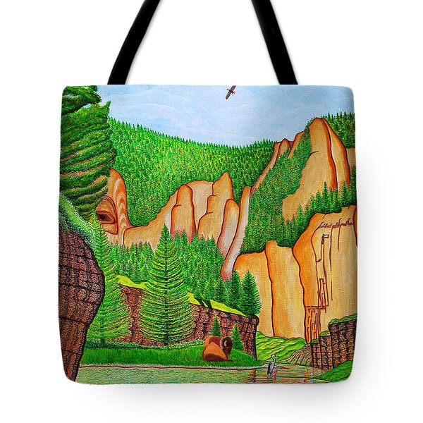 Smith River Montana Tote Bag by Joseph J Stevens