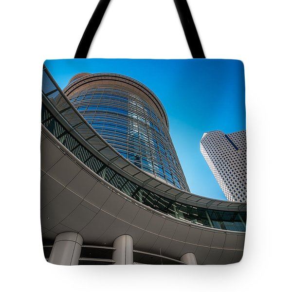 Smith Street Skywalk Tote Bag by Andy Crawford