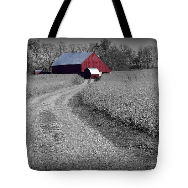 Smithsburg Barn Tote Bag by Robert Geary