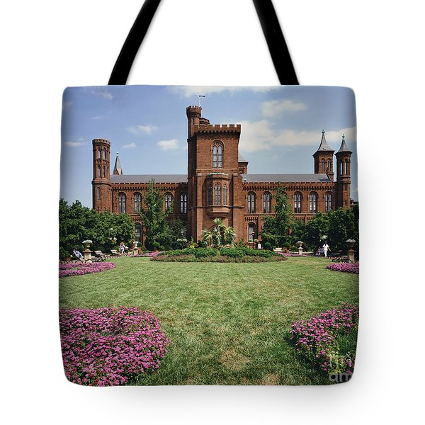 Smithsonian Institution Building Tote Bag