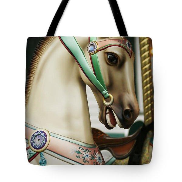 Smithville Carousel Horse I Tote Bag