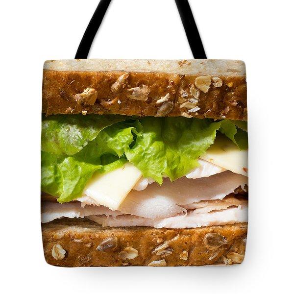 Smoked Turkey Sandwich Tote Bag by Edward Fielding