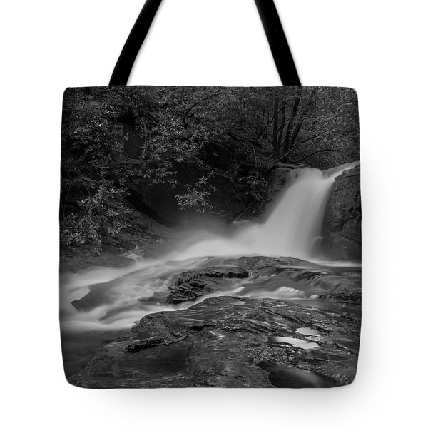 Smokey Tote Bag by Debra and Dave Vanderlaan